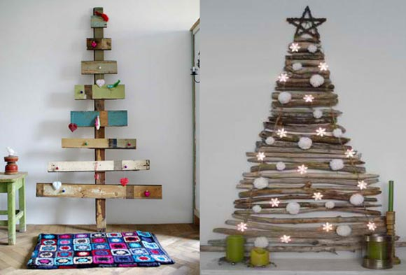 Alternative Christmas Trees Interior Design Inspirations