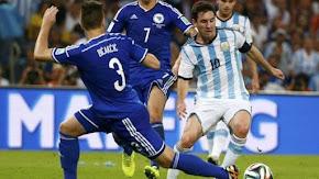 Argentina 2x1 Bósnia - 2014