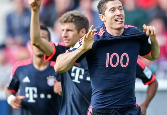 Mainz 0 x 3 Bayern de Munique - Campeonato Alemão(Bundesliga) 2015/16