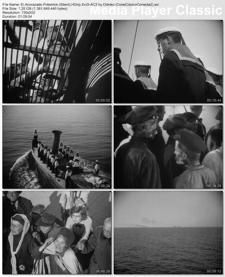 El acorazado Potemkin 1925 | Secuencias de la película | Cine mudo