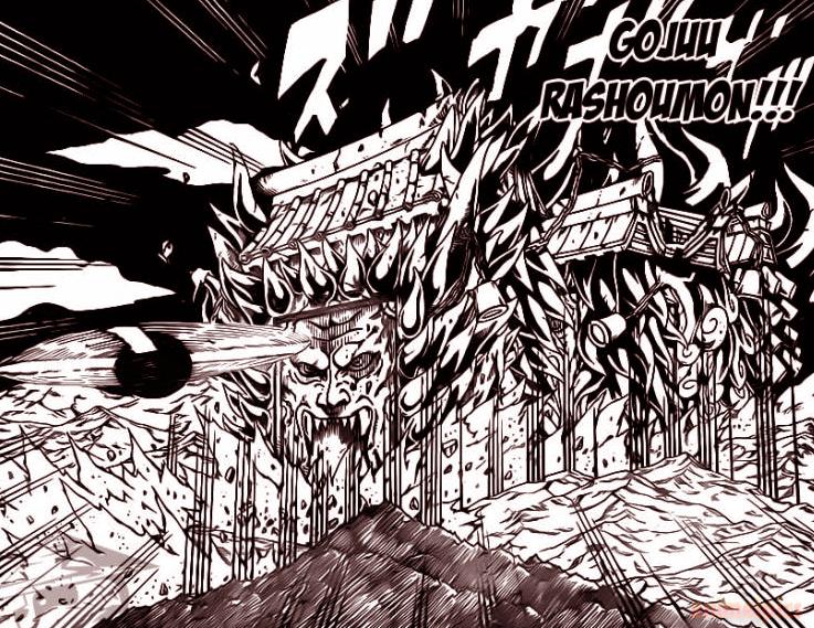 Jutsus: Senju Hashirama Gojuu+Rashoumon-animeipics