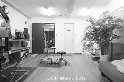 ドラム教室 JOE レッスン室 フロント