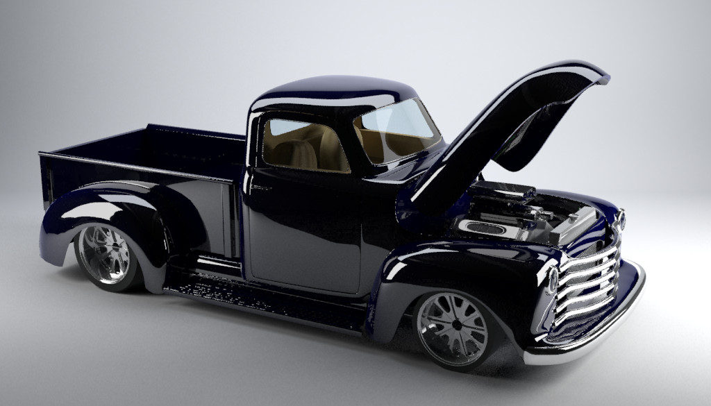 1952 Chevy Truck On S10 Frame For Sale
