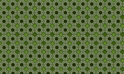 Dharma initiative jungle green pattern
