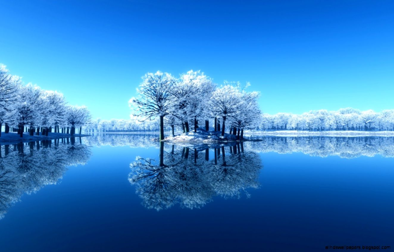 Blue Lake Mirror Image Windows 8 Wallpaper  Windows 8 Lake