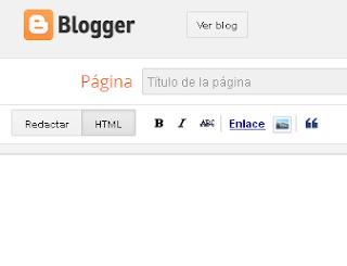 Como crear una tabla de contenidos o Sitemap en blogger