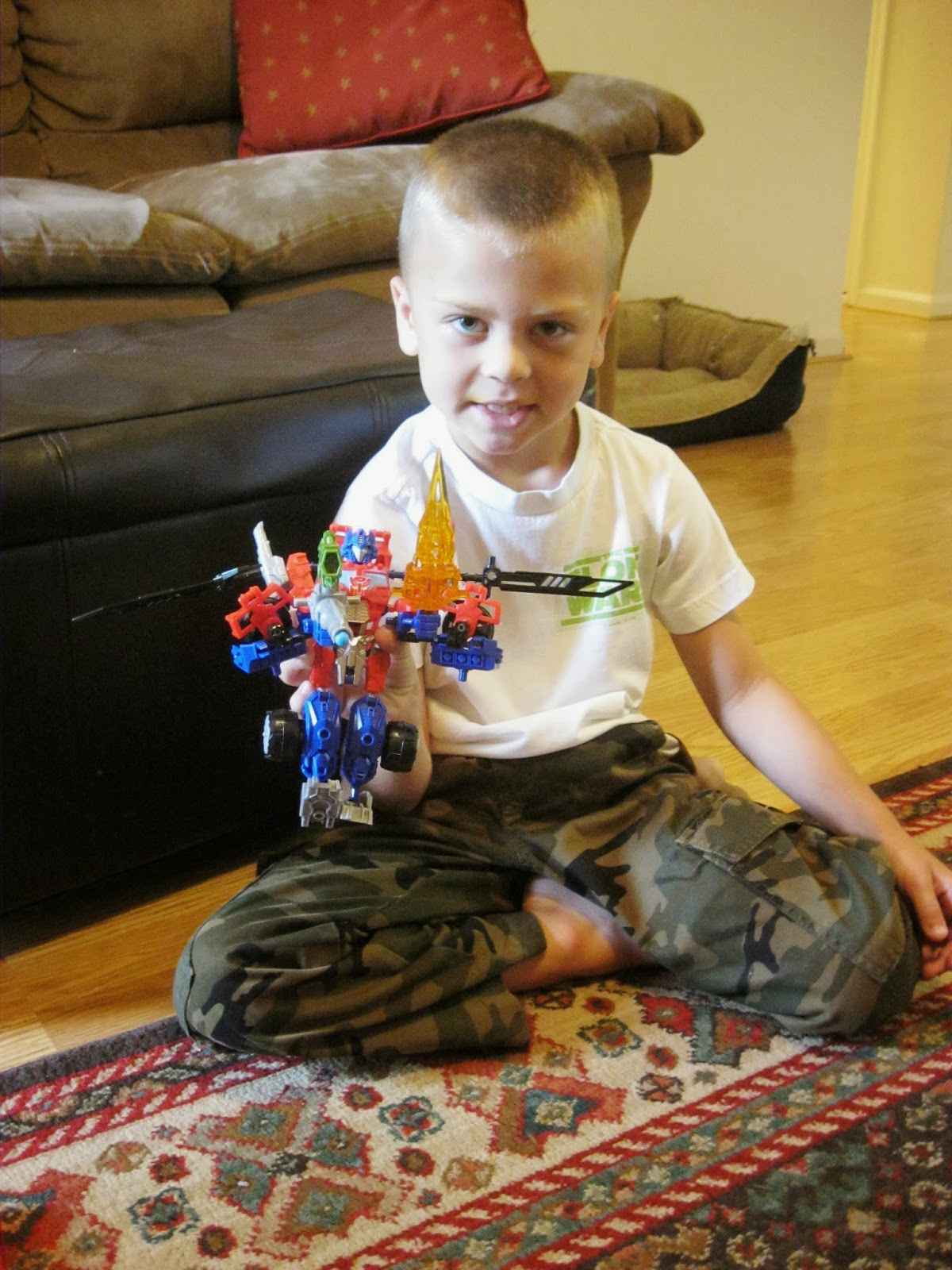 transformers construct bots optimus prime instructions