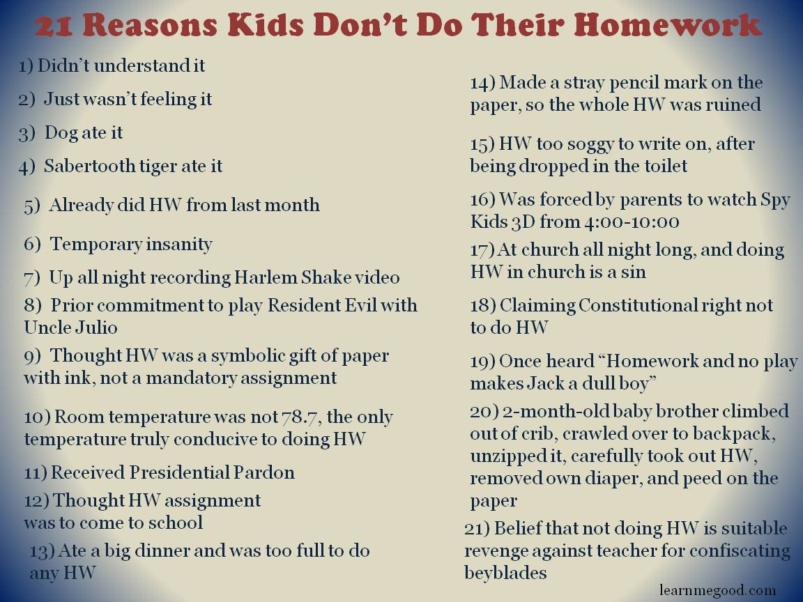 Top 14 Reason Why Homework is Important