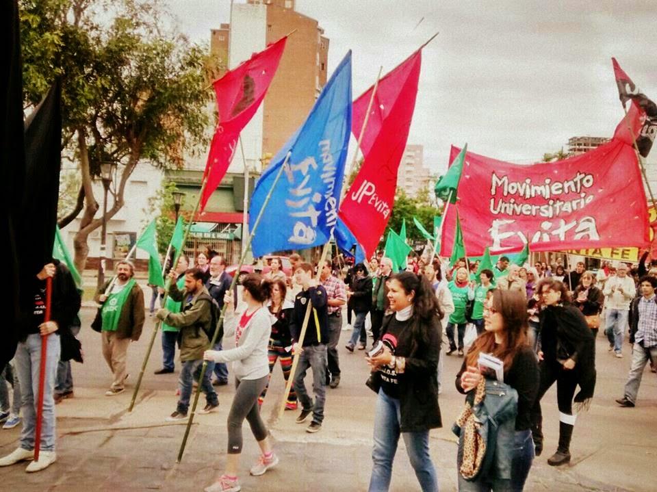 Marcha contra Frillocchi.