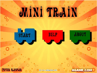Games Flash Fisika: Mini Train