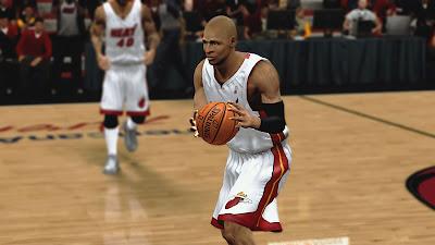 NBA 2K13 Ray Allen Face NBA2K Mods