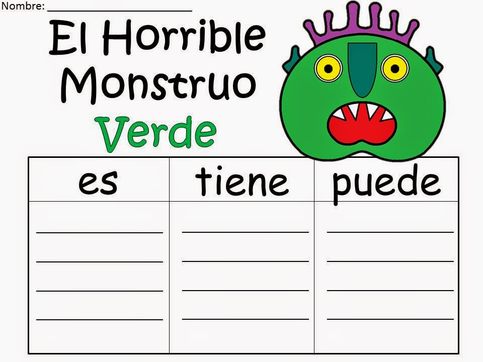 Fairy tales and fiction by 2 meet us at sde 39 s i teach k for Fuera de aqui horrible monstruo verde pdf