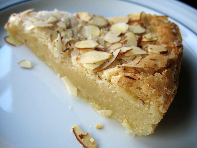 The Hungry Dog: A delicious and simple almond cake