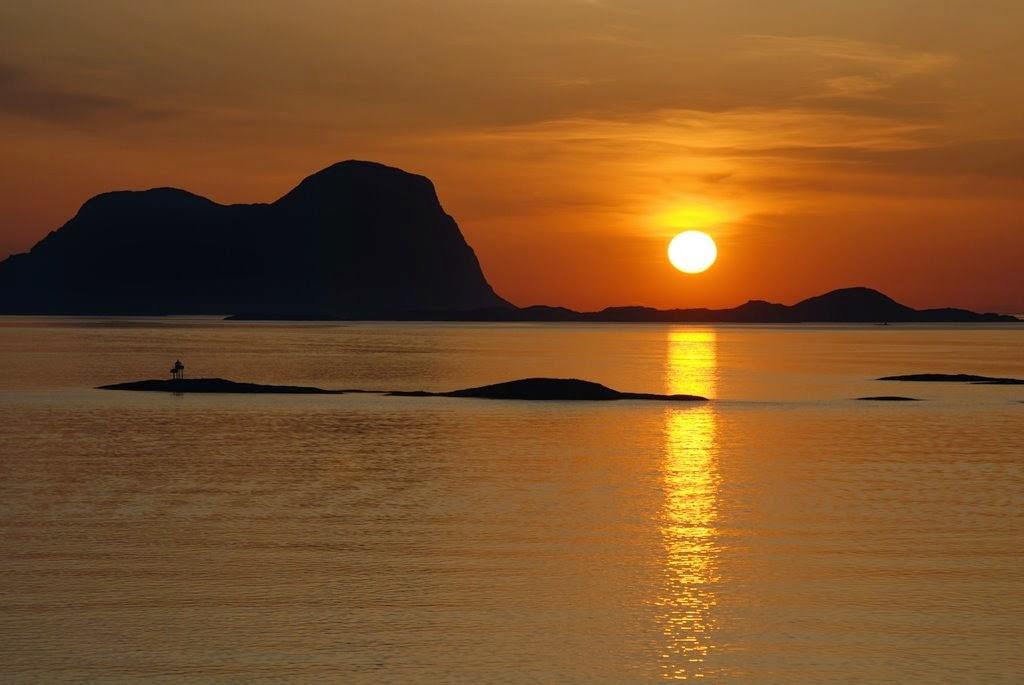 Turimsmo en Noruega, el famoso Sol de Medianoche