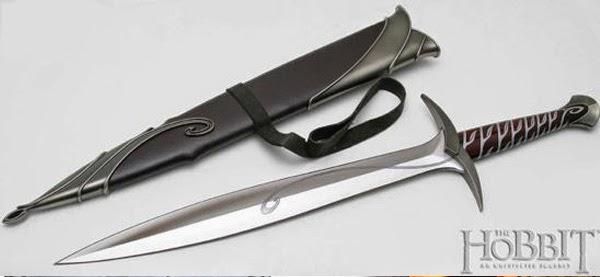 Dardo, la espada de Bilbo y Frodo