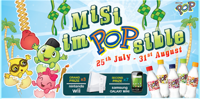 Spritzer Pop 'Misi ImPOPsible' Contest