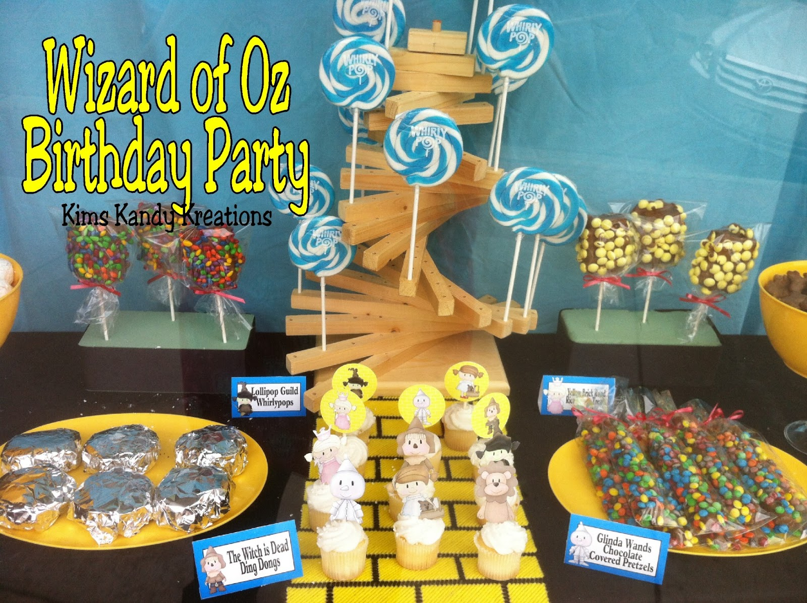 Wizard of Oz Birthday Party Everyday Parties