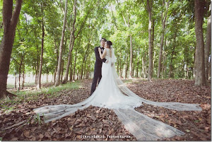 forest pattern wedding