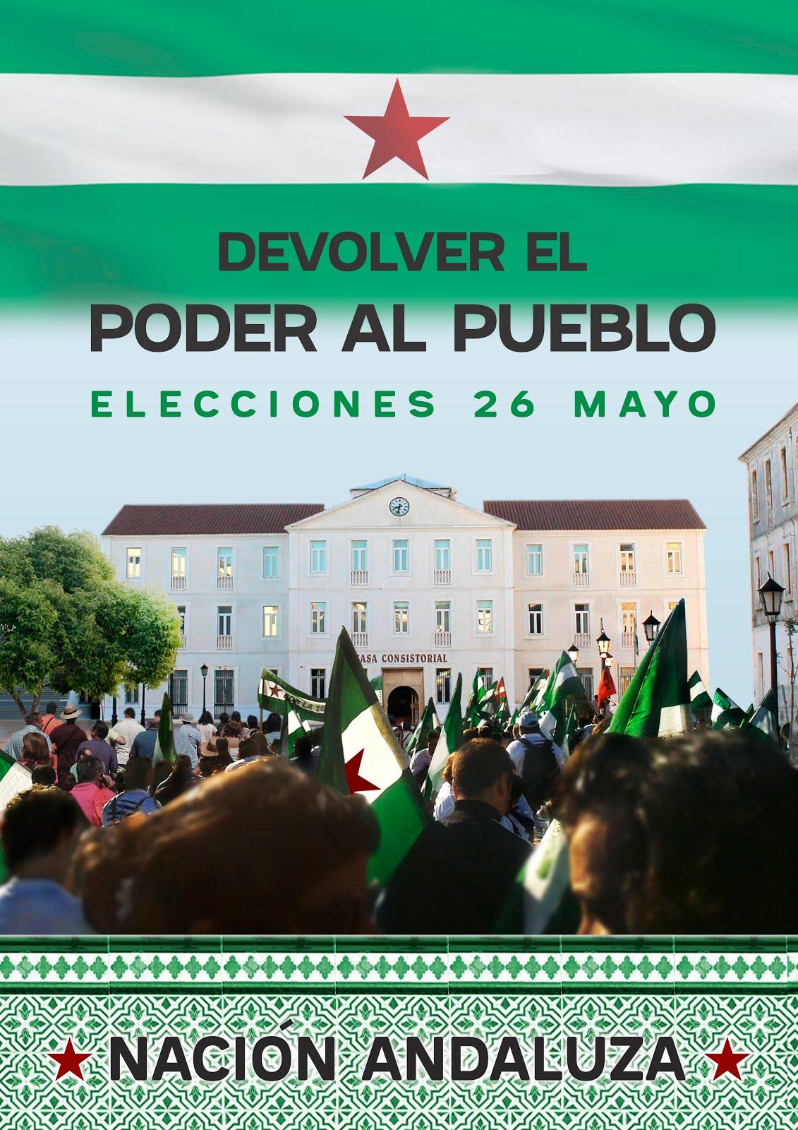 Elecciones municipales 26M: Devolver el poder al pueblo