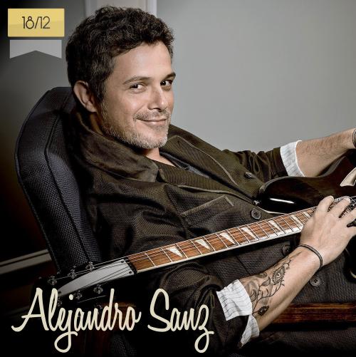 18 de diciembre | Alejandro Sanz - @AlejandroSanz | Info + vídeos