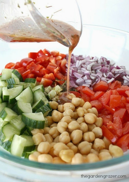 Ultimate Greek Chopped Salad - Recipes for Diabetes-Weight ...