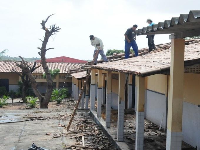 Natal: Educação do RN faz reforma na Escola Estadual Zila Mamede