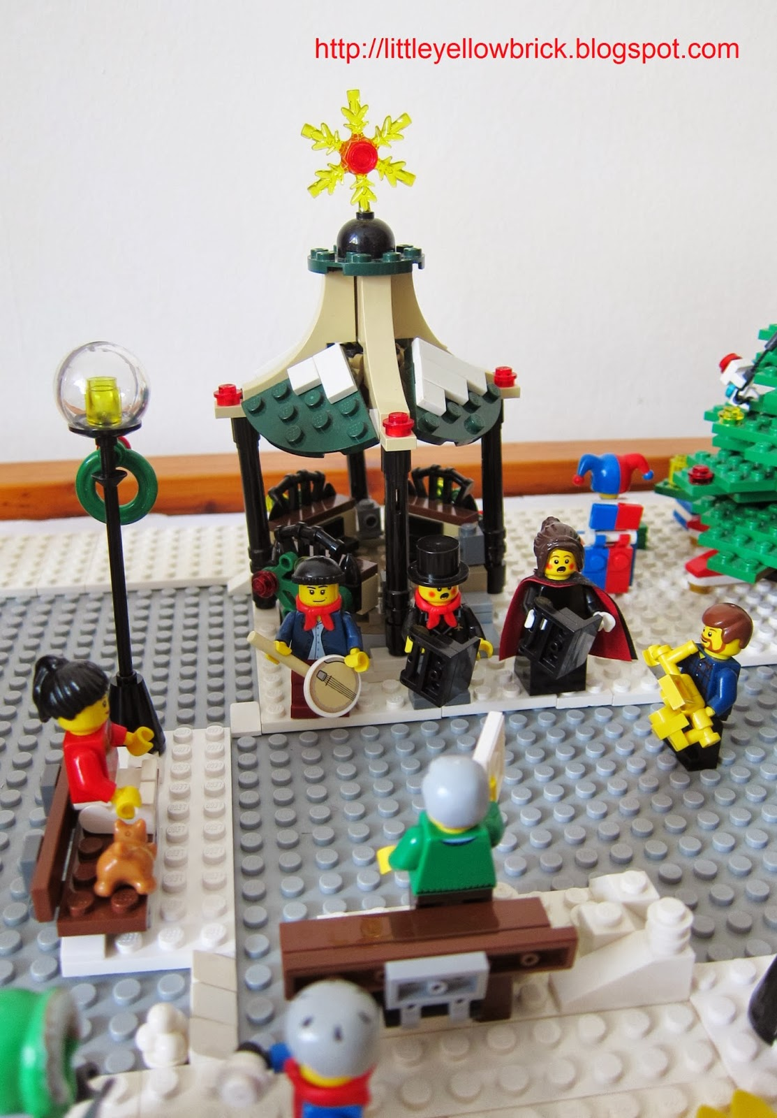 Little Yellow Brick A Lego Blog Our Lego Winter Village