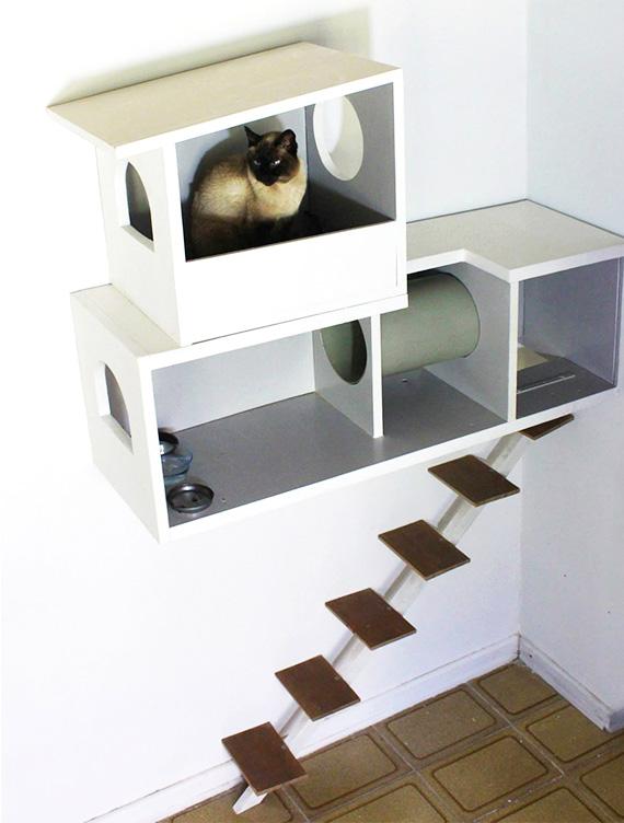 Casa de gato a mans o da jhay blog de - Casas para gatos baratas ...