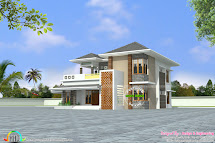 Modern House Plans Side View