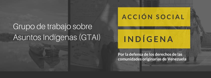 Grupo de Trabajo sobre Asuntos Indígenas (GTAI)