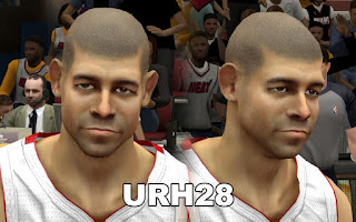 NBA 2K13 Shane Battier Cyber Face Mod