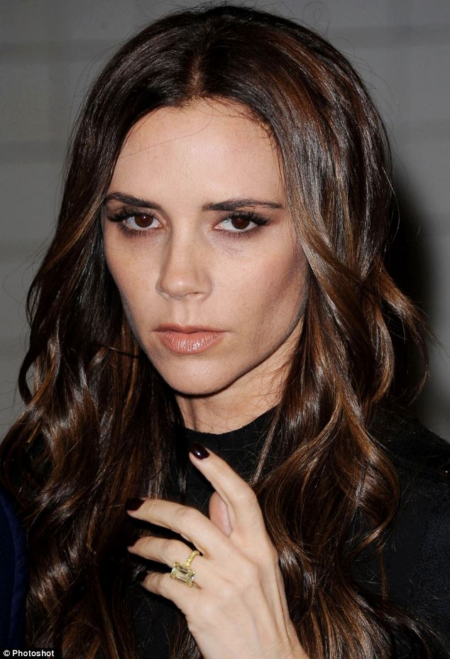 Heroin chic: The fashion designer appeared in New York recently with dark  circles under her eyes
