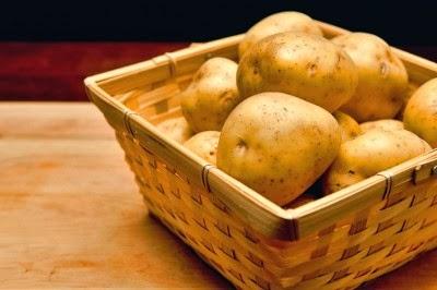 Storage of fresh Potatoes