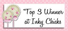 Top 3 Winner at Inky Chicks challenge nº70