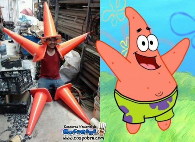 Cosplay Patrick