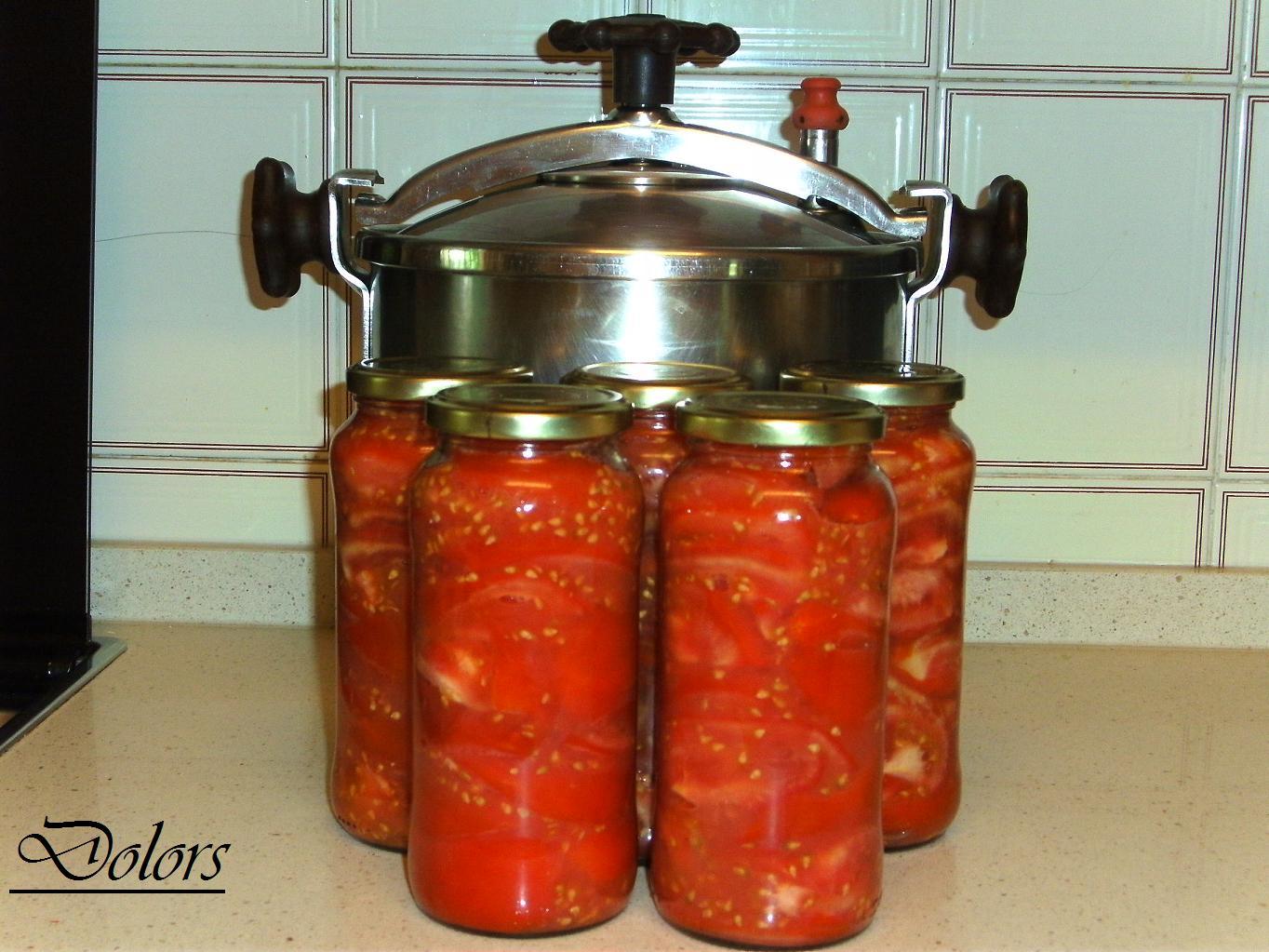 Cocinar Olla Express | Cocina Y Mas Cosas Conserva De Tomates En Olla A Presion