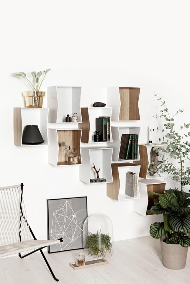 Estanterías diferentes + selección de compras