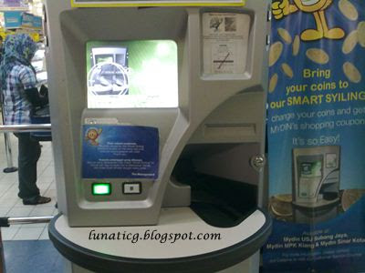 nearby coin machine