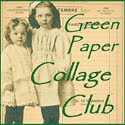 Green Paper Collage Club