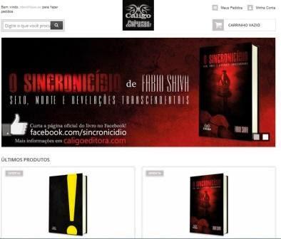 Loja Virtual da Caligo Editora
