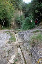 Canal per portar aigua de la bassa cap a Sant Miquel Xic