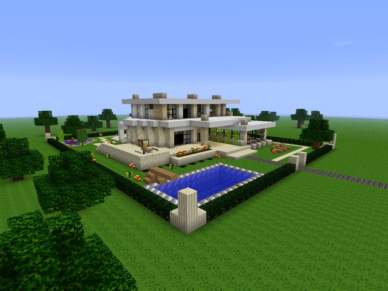 Minecraft Modern House 2 Beach Town Project 3 Minecraft Modern House 2