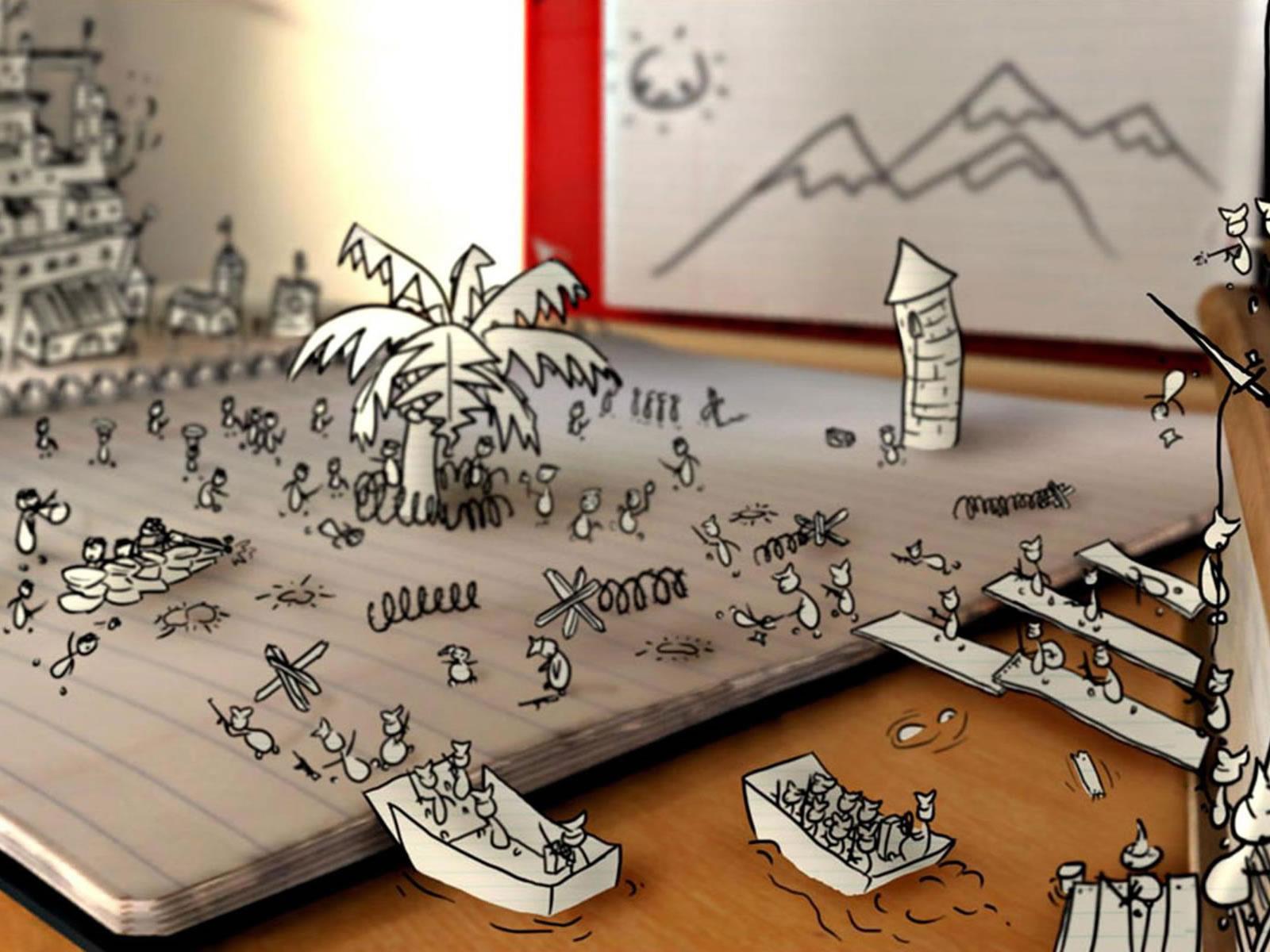 20 Free 3D Vector Desktop Backgrounds Wallpapers HD