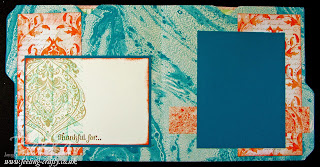 Thankful Mini Album made using the Envelope Punch Board from Stampin' Up! - check out this blog for lots of cute ideas