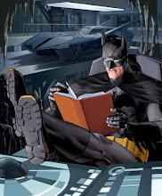 Batman llegint