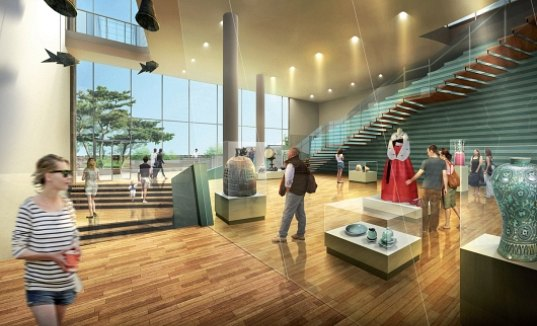 Famous buildings of the world korean cultural center of the permanent building in manhattan for Interior design certificate nyc