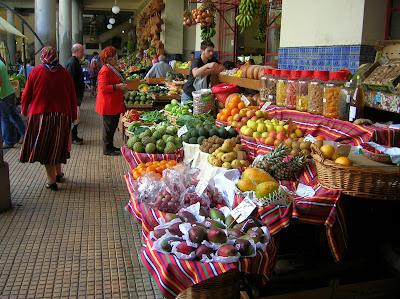 Mercado dos Lavradores, Mercado de los Labradores, Funchal, Madeira, Portugal, La vuelta al mundo de Asun y Ricardo, round the world, mundoporlibre.com