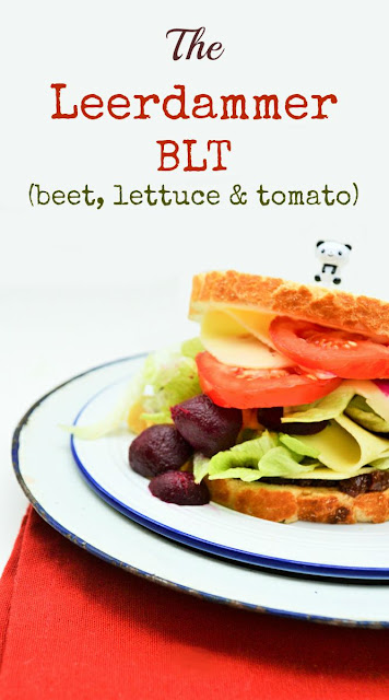 The Leerdammer BLT. Beet, Lettuce and Tomato on tiger bread with Leerdammer and a spicy extra. Perks up lunch a treat.