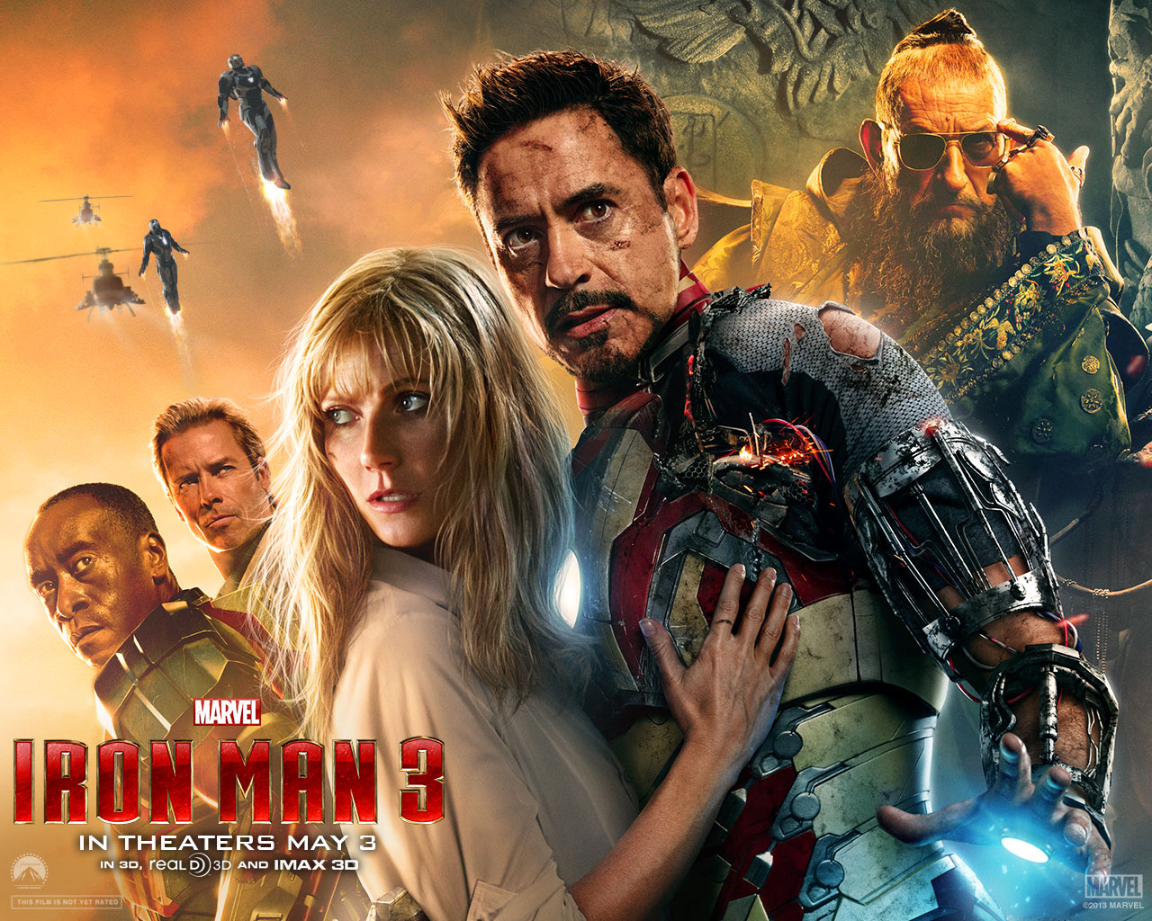 Iron Man 3 wallpaper 1280x1024 012