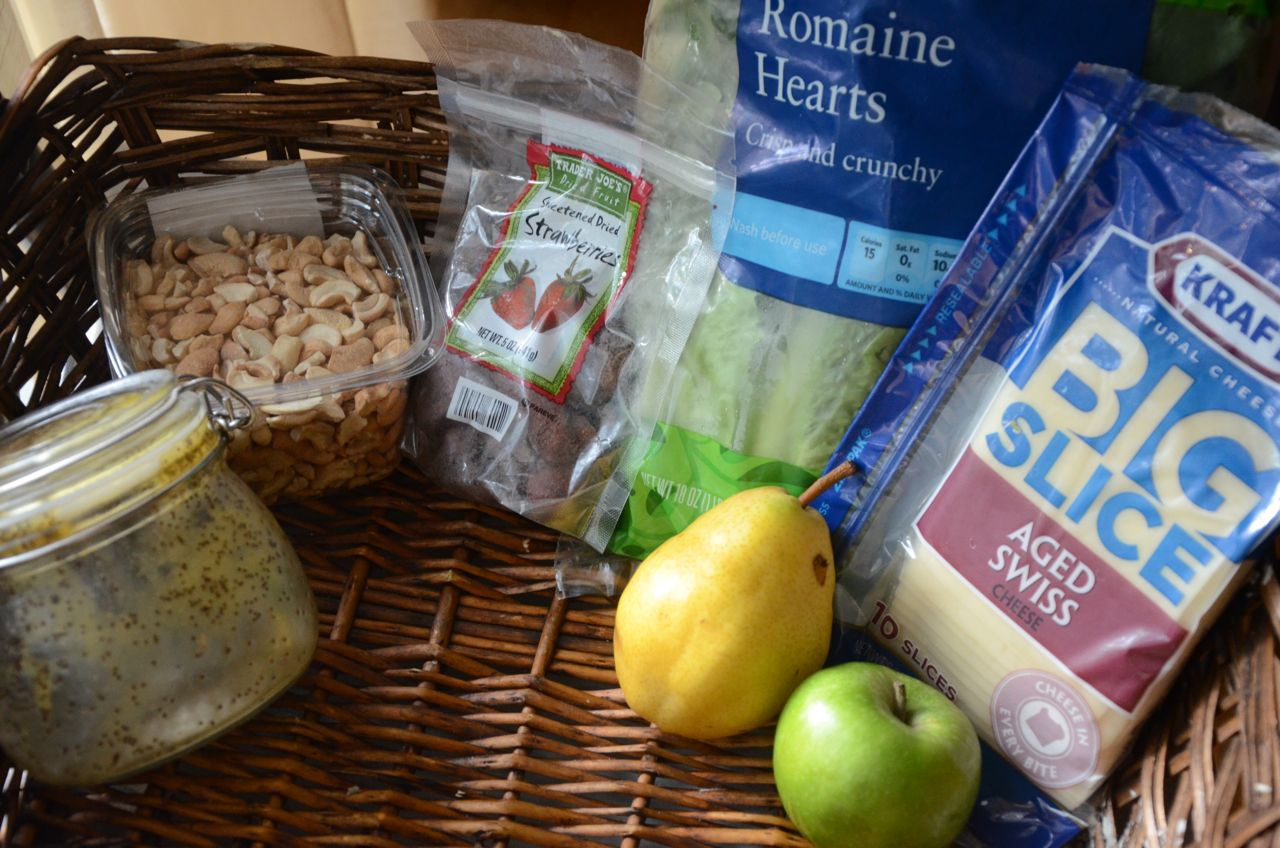 ... Shoebox: Apple and Pear Green Salad with Honey Poppy Seed Dressing